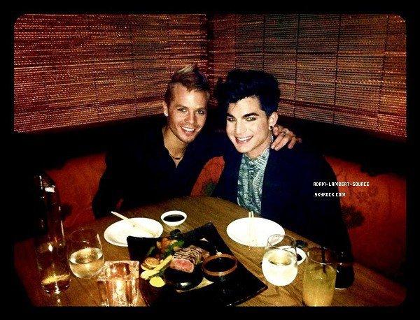 #924 Nouvelle photo d'Adam et Sauli au nouvel an. (31.12.11)