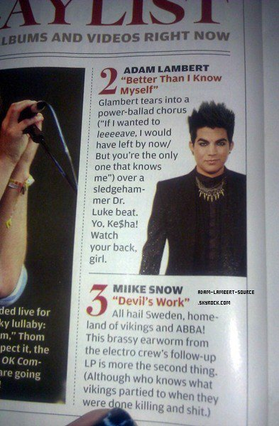 #927 Current Rolling Stone. (19.01.12)