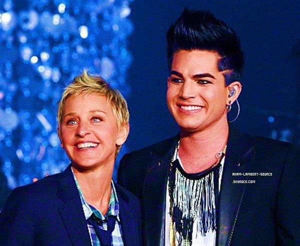 #931 Adam fera une prestation au Ellen DeGeneres Show, le 19 janvier prochain!
