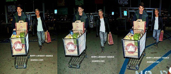#939 Adam et Sauli au Whole Foods (Los Angeles). (07.01.12)