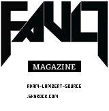 #944 Adam confirme le photoshoot pour le magazine Fault Men, au printemps.
