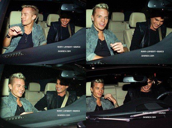 #945 Adam et Sauli quittant le restaurant Katsuya, à West Hollywood. (10.01.12)