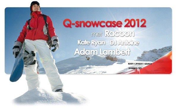 #956 Le site Q-Music a confirmé qu'Adam fera une performance en Autriche le 29 janvier prochain (soit le jour de son anniversaire!)