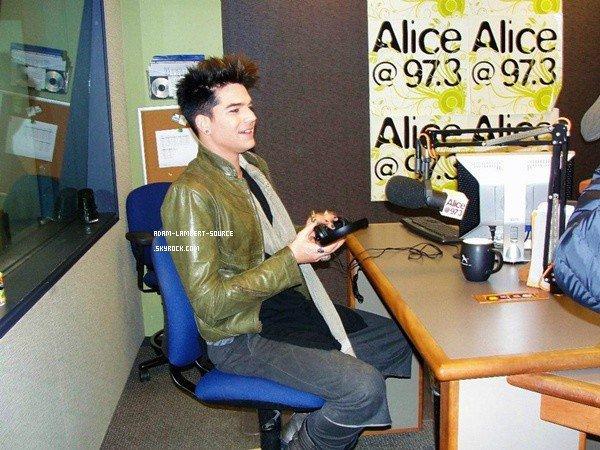 #971 Interview Alice 97.3 SF. (20.01.12)