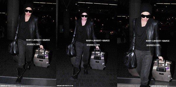 #994 Adam à l'aéroport de LAX, à Los Angeles. (27.01.12)