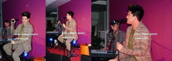 #1030 Showcase Mix Unplugged à Stockholm, en Suède. (05.02.12)