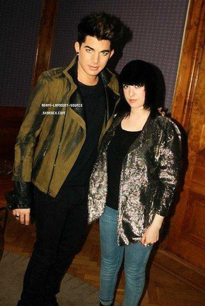 #1043 Adam et une journaliste suédoise.