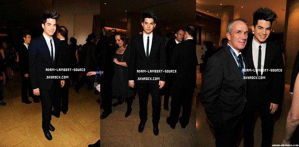 #1066 Adam était au Clive Davis Pre-Grammy à l'hôtel Hilton, à Beverly Hills. (11.02.12)