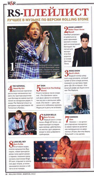 #1067 Rolling Stone (Russie).