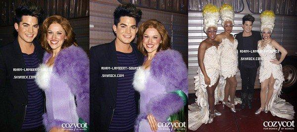 #1074 Adam était dans les backstages de la pièce musicale ''Priscilla Queen of the Desert'' au Palace Theatre, à New York. (13.02.12)