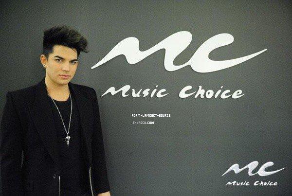 #1090 Adam était au studio Music Choice, à Manhattan.