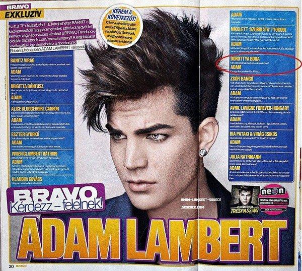 #1133 Better Than I Know Myself en première place dans le magazine Bravo (Allemagne) + Magazine Bravo (Hongrie) + Les plans du festival Sonisphere dans le magazine Kerrang