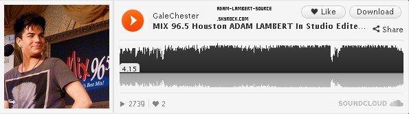 #1148 MIX 96.5 Houston Radio Promo. (06.03.12)