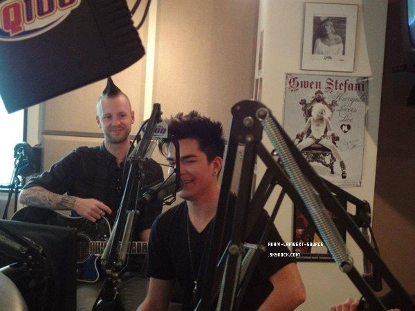 #1153 Adam au The Bert Show. (08.03.12)