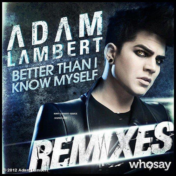 #1155 Nouveau tweet d'Adam: À venir (Better Than I Know Myself REMIX!)