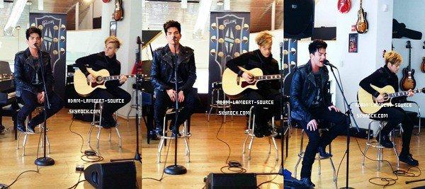 #1160 Adam était à Washington DC et a fait une prestation pour Trespassing. (12.03.12)