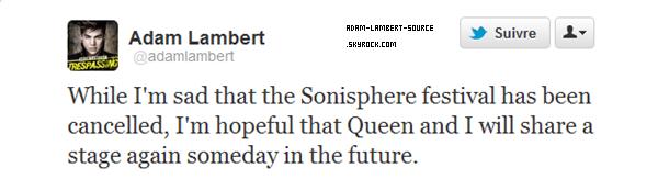 #1200 Le Sonisphere Festival est officielement annulé...