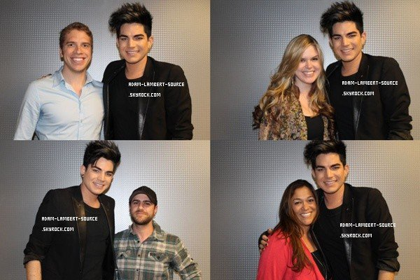 #1208 Adam en performance au 104.3MYfm + Meet & Greet. (02.04.12)