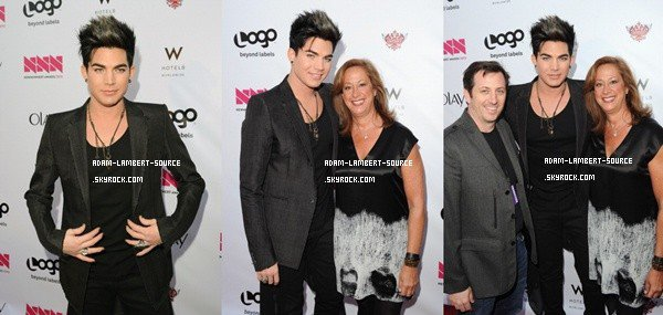 #1216 Adam sur le tapis rouge des NewNowNext Awards. (05.04.12)