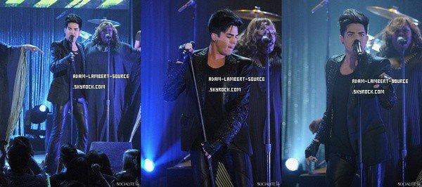 #1217 Adam en performance au NewNowNext Awards. (05.04.12)