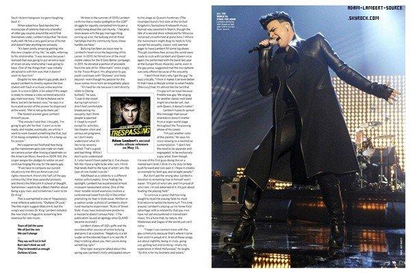 #1268 Les scans du magazins Intinct.