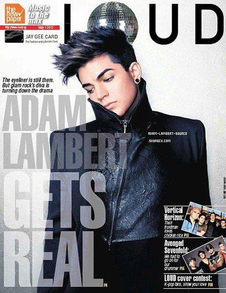 #1277 Adam dans le magazine LOUD (Singapour).