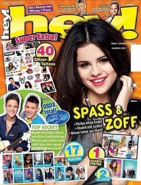 #1284 Un poster d'Adam dans le magazine Hey! (Allemagne) + Magazine Bravo (Russie)