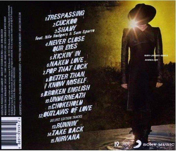 #1293 Apparemment, cette photo serait le derrière de l'album deluxe de Trespassing.