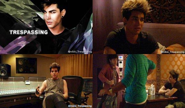 #1300 Quelques captures d'écran du DVD du Making Of de Trespassing (via @glam_alidol)