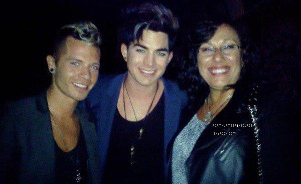 #1307 Adam et Sauli au Hotel Cafe (Los Angeles) (11.05.12)