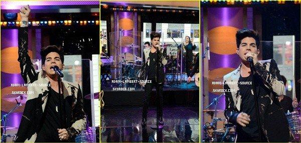 #1309 Adam au Good Morning America (14.05.12)