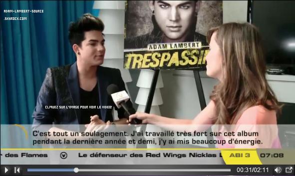 #1367 Interview avec Express TV, Canada. (01.06.12)