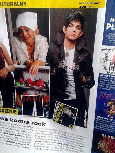 #1380 Magazine Aftonbladet (Suède) + Interview avec TV Plus English (Afrique du Sud). (13.06.12) + Magazine Gossip (Pologne)