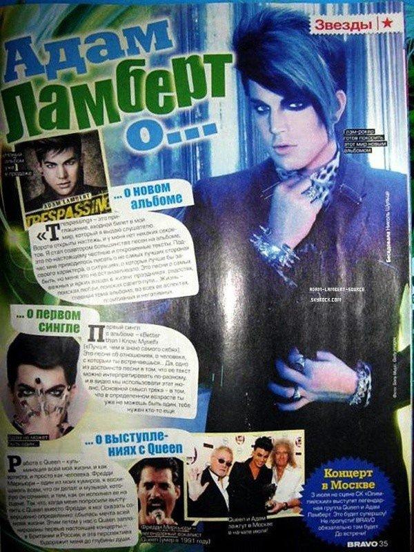 #1386 Magazine Bravo (Russie). (13.06.12)