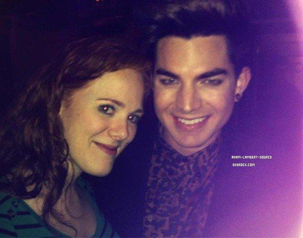 #1396 Adam était au Pop Justice Quiz, à Londres. (18.06.12)