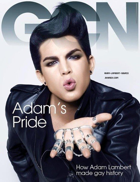 #1397 Adam en couverture du Gay Community News. (Irlande)