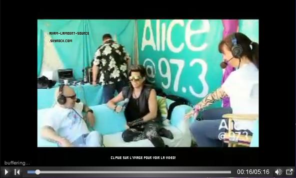 #1407 Sony Music Canada: Adam Lambert répond aux questions des fans canadiens.
