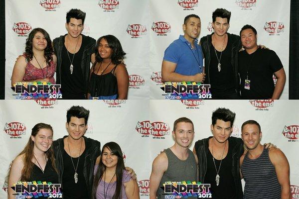 #1437 Meet&Greet du 107.9 The End, au concert de Sacramento. (20.07.12)