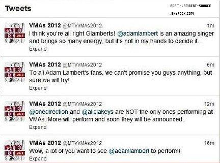 #1455 Adam au MTV Video Music Awards 2012?
