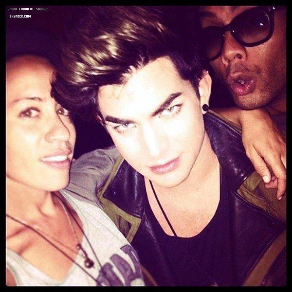 #1457 Adam et Raja au bar Marmont, à Los Angeles. (31.07.12)
