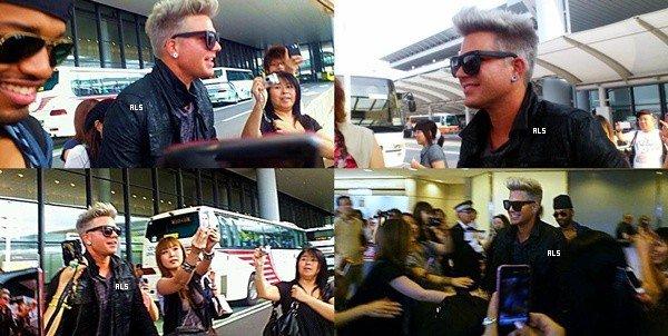 #1463 Adam arrivant à l'aéroport Narita, à Tokyo (Japon). (10.08.12)