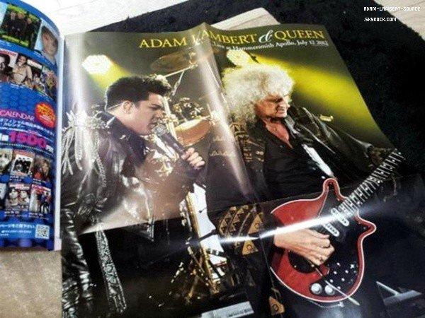 #1464 Magazine Inrock (Japon) (Septembre 2012)
