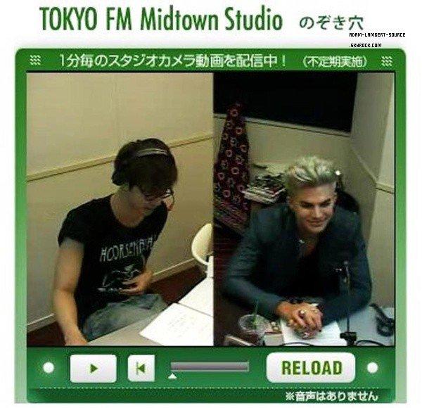 #1465 Interview avec Tokyo FM Cosmo Best. (11.08.12)