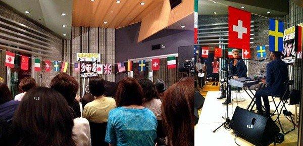 #1466 Adam était au Tokyo Fan Event où il a chanté Trespassing et rencontré ces fans. (11.08.12)