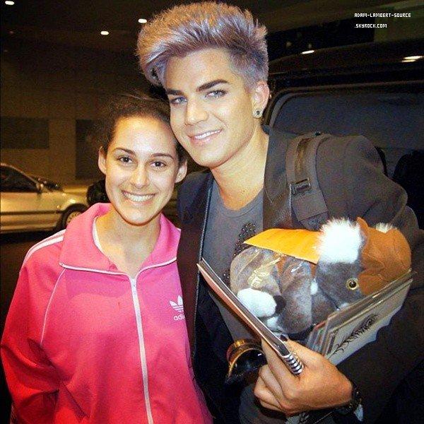 #1483 Adam était au Take 40 Lounge, à Syndey (Australie). (22.08.12)