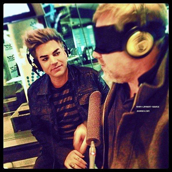 #1485 Adam au 2DayFM Radio. (Australie)