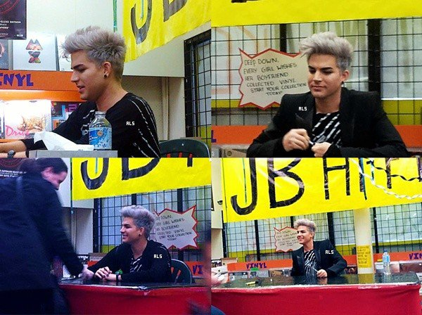 #1490 Adam était à une scéance d'autographe au JB Hi-Fi, à Melbourne en Australie. (26.08.12)