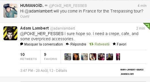 #1492 Une date en France pour la tournée Trespassing?