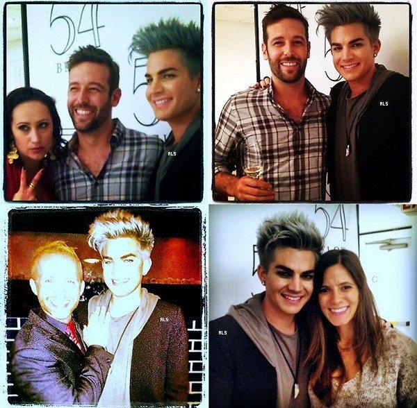#1500 Quelques photos d'Adam à New York. (10.09.12)
