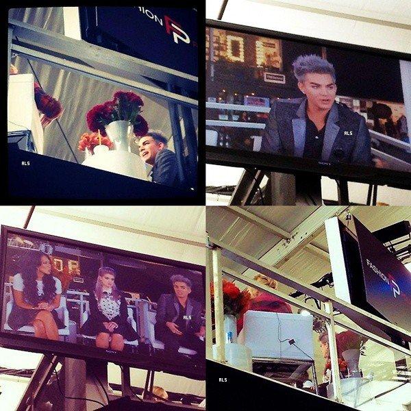 #1501 Adam était sur le set du Fashion Police. (11.09.12)